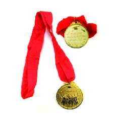 Success medal with ribbon