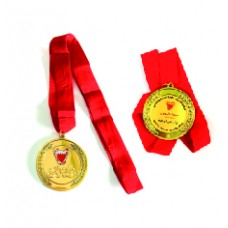 Medal of Excellence with ribbon