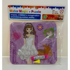 Magic color palette - puzzel