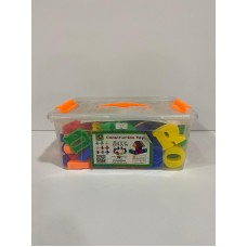 English letter combinations with thread - large box