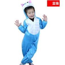 Childrens Costume Dress - Blue cat