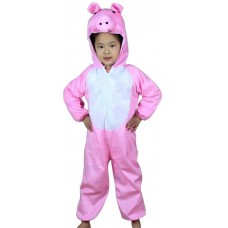 Children's Costume Dress - Pink Pig