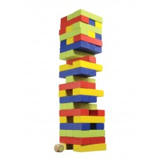 Wooden tower - Colors