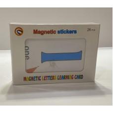 بطاقات الأرقام الانجليزية المغناطيسية - القياس 14.2*19.3 سم - MAGNETIC LETERS LEARNING CARD - الرمز H804-B