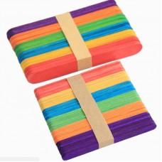 أعواد  الايسكريم الضعيفة الملونة 11 cm