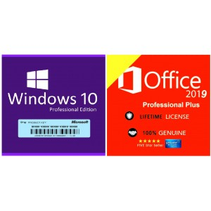 Office 2019 Original Key & Windows 10 professional Key