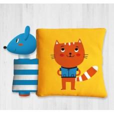 كتب قماشية(القطة والفأرة)