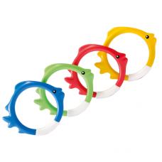 Diving Swimming Pool Kids Toy Play Underwater Fish Rings 55507