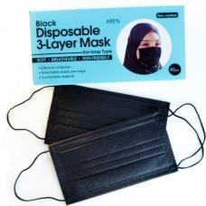 Mask in black color