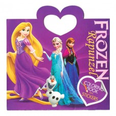 Frozen small coloring book with stickers