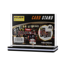 card stand size A6