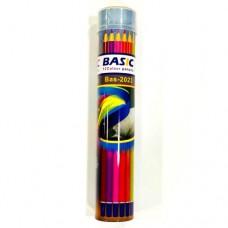ألوان خشب  العلبة الاسطوانيه 12 لون BASIC