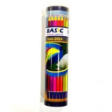 ألوان خشب  العلبة الاسطوانيه 24 لون BASIC
