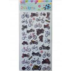 ملصقات - دراجات هوائية