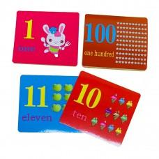 بطاقات الأرقام الإنجليزية - NUMBERS 1-100