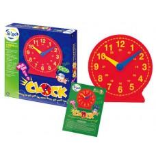 Educational magnetic clock