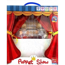 puppet show - paint the puppets