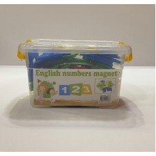 Let's learn the numbers magnetic - big box - English